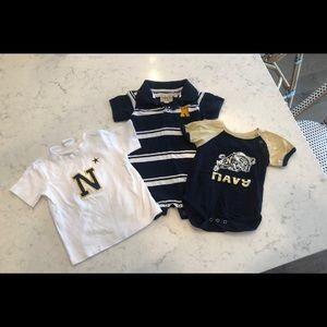 Navy toddler clothes sz 6-12mos, 12-18mos, & 2T